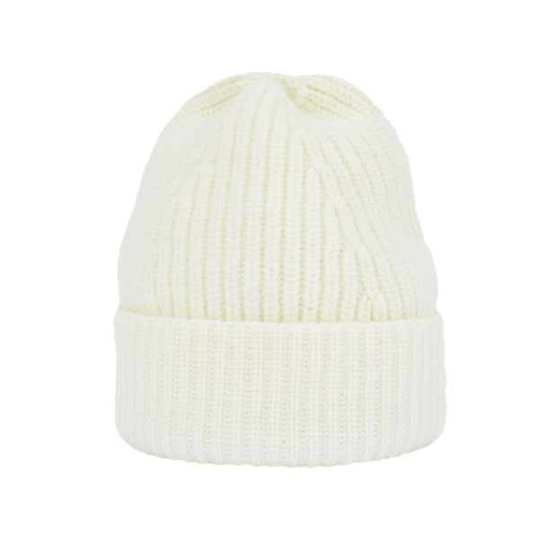 Beanie - Merino Wool in Cream
