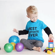BEST PLAYDATE EVER Tee - Island Blue