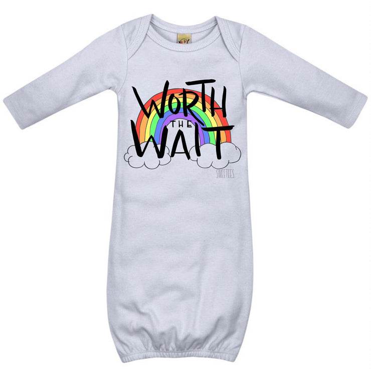 Worth The Wait Infant Gown