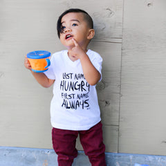 Always Hungry Tee -  White