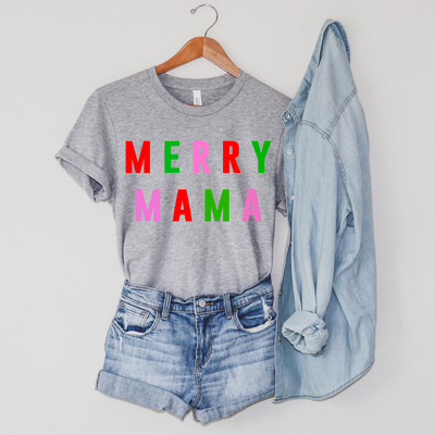 Merry Mama Multicolor Tee