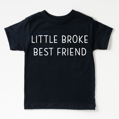 Little Broke Best Friend Kids Tee