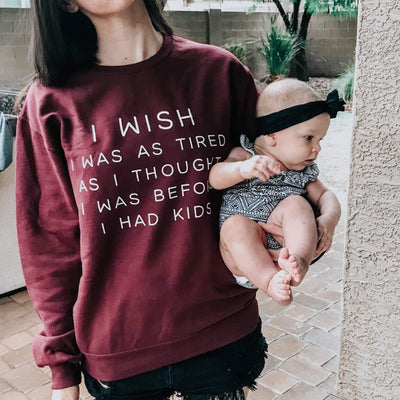 I Wish Unisex Sweatshirt
