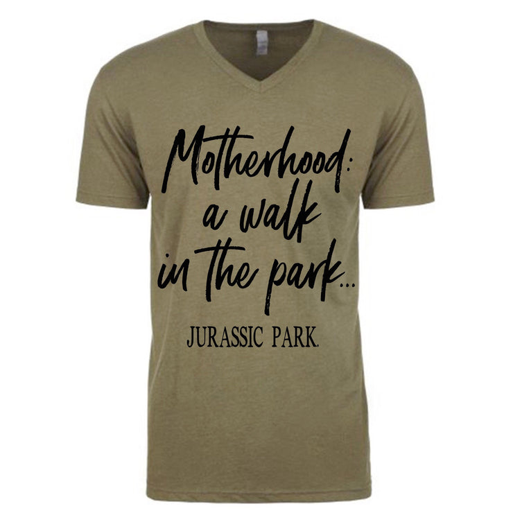 Walk In The Park Tee - Olive (PREORDER)