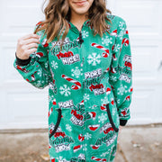 Holiday Unisex Union Suit - NAUGHTY + NICE