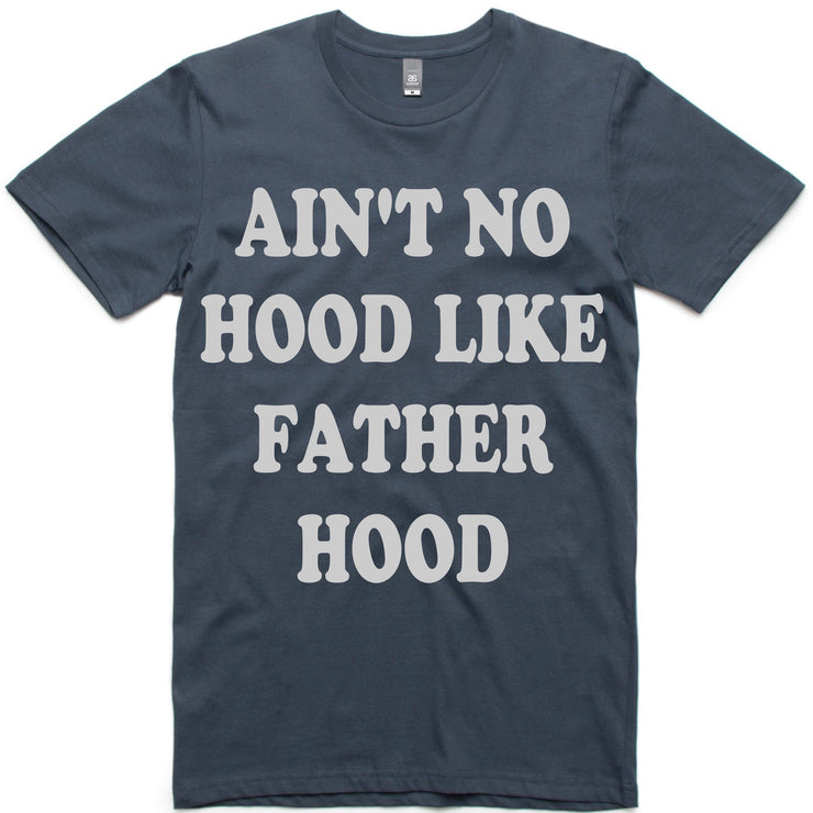 Ain't No Hood Like Fatherhood Retro Tee