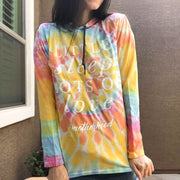 Little Sleep, Lots of Love Tie-Dye Hooded Tee
