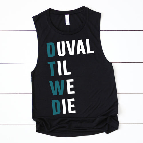 DTWD LADIES MUSCLE TANK