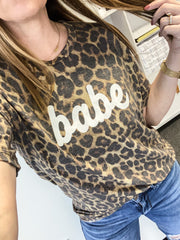 Babe Leopard Tee
