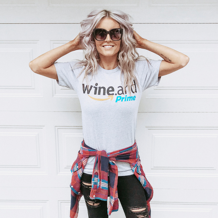 Wine and Prime Tee