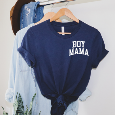 Boy Mama Collegiate Icon Tee