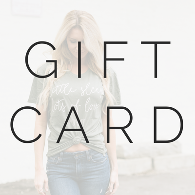 SWEETEES GIFT CARD
