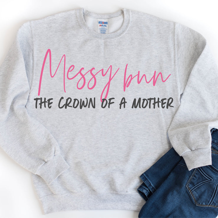 Crown of a Mother Unisex Sweatshirt