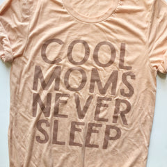 COOL MOMS NEVER SLEEP Rose Gold - Peach