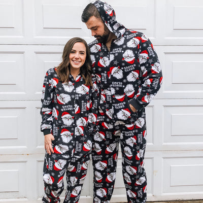 Holiday Unisex Union Suit - SANTA CLAWS