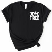 Dead Tired Icon Tee - Black