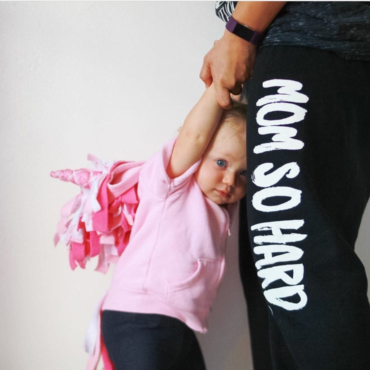 Mom So Hard® Fleece Boyfriend Sweatpant