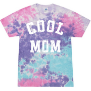 Cool Mom Cotton Candy Tie Dye Tee
