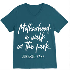 Walk In The Park Tee - Deep Teal