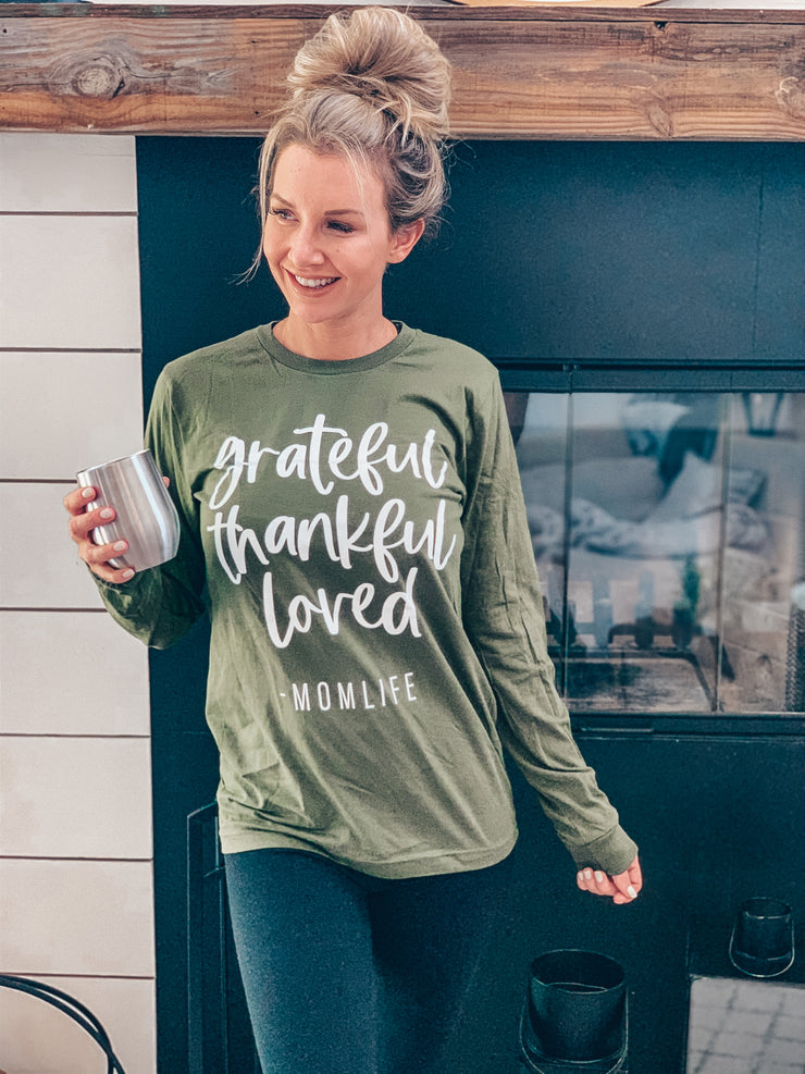 Limited Edition SEPTEMBER Tee - Grateful, Thankful, Loved
