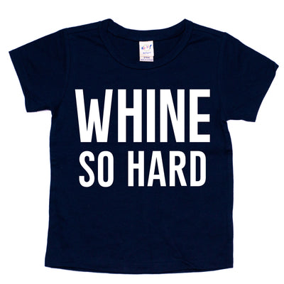 Whine So Hard Tee - Black