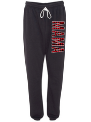 MAMA Buffalo Plaid Boyfriend Sweatpants