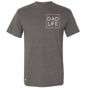 Dad Life Icon Bottle Opener Tee - Charcoal