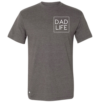 Dad Life Icon Bottle Opener Tee - Charcoal (PREORDER)