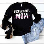 Professional Stay At Home Mom Pullover Tee