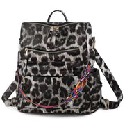 Hailey Convertible Backpack - Snow Leopard