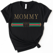 MOMMY Designer Tee - Black