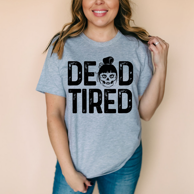 Dead Tired Tee - Athletic Heather (PREORDER)