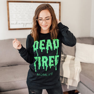 Dead Tired Slime Pullover Tee