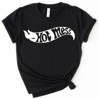 Hot Mess Hotwheels Tee