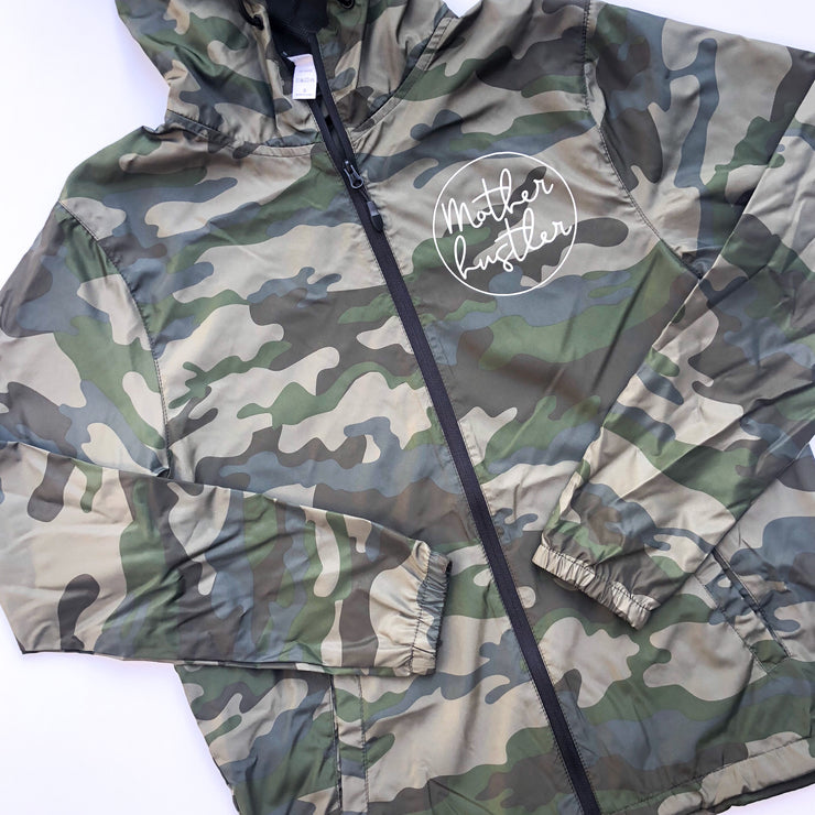 Mother Hustler Icon Camo Windbreaker