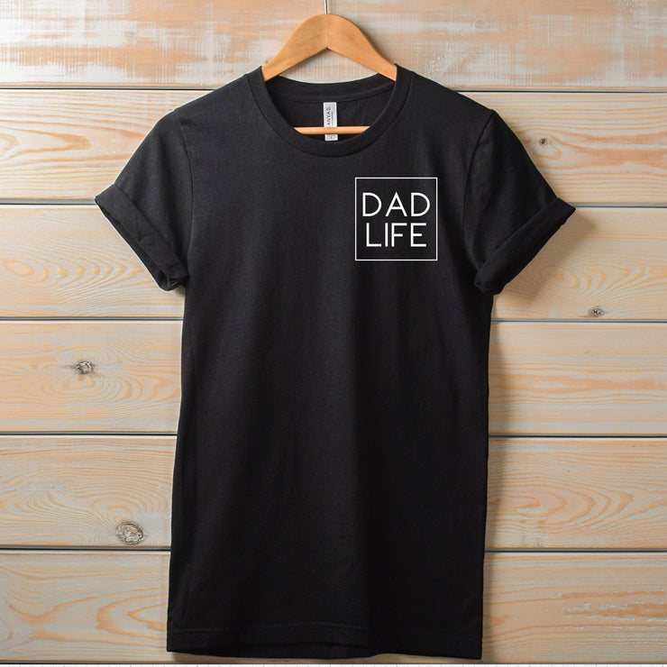 Dad Life Icon Tee - Black