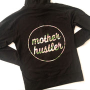 Mother Hustler Lightweight Zip-Up with Blush Camo Print