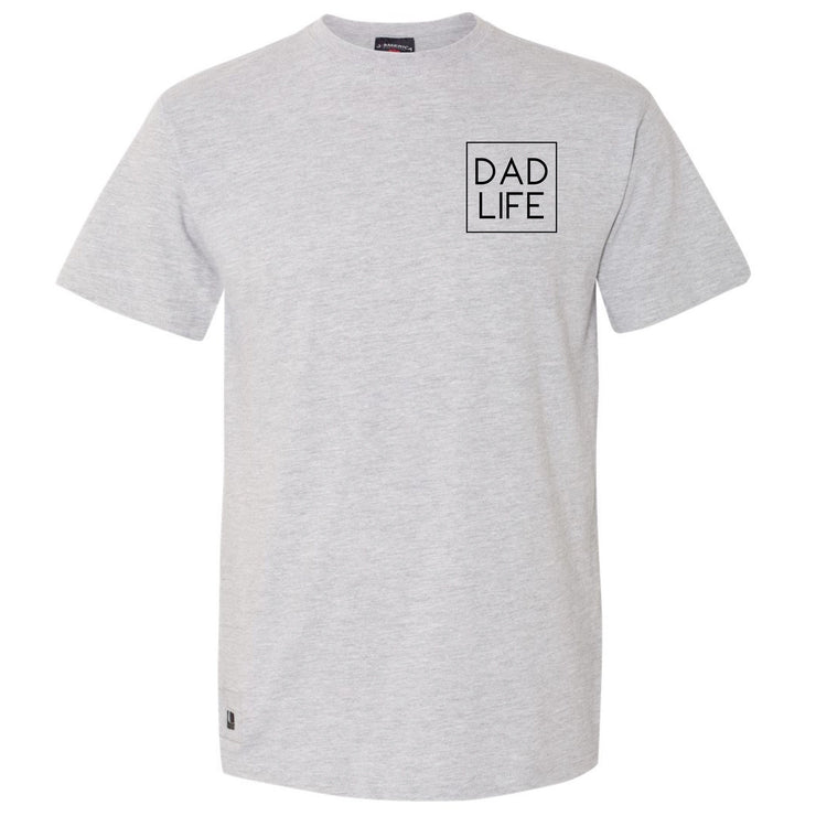 Dad Life Icon Bottle Opener Tee - Oxford