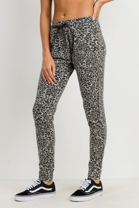 Cheetah Print Sweatpants