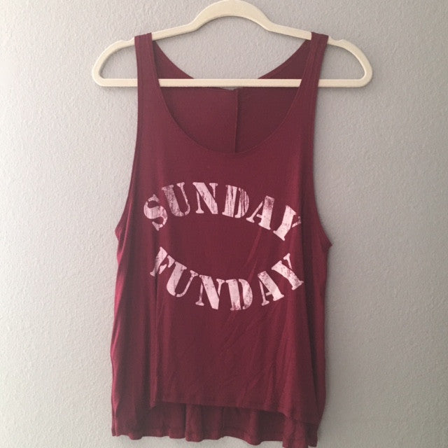 Sunday Funday Maroon