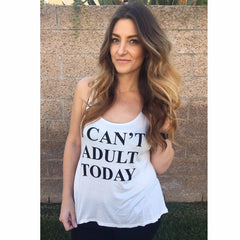 Can't Adult Tank
