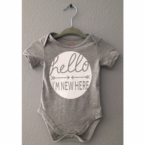New Here Wavesbaby Onesie