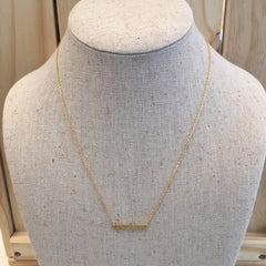 Gold Mommy Necklace