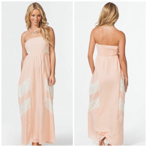 Rip Curl Maxi Peach Dress