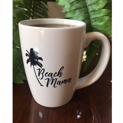 """Beach Mama"" Coffee Mug"