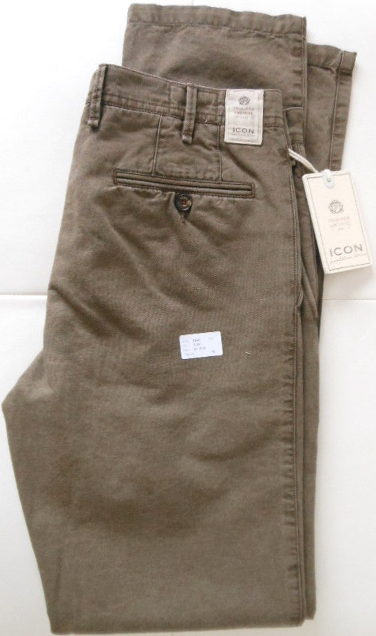 PT01 Pantaloni Torino - Model Icon - lines+cotton