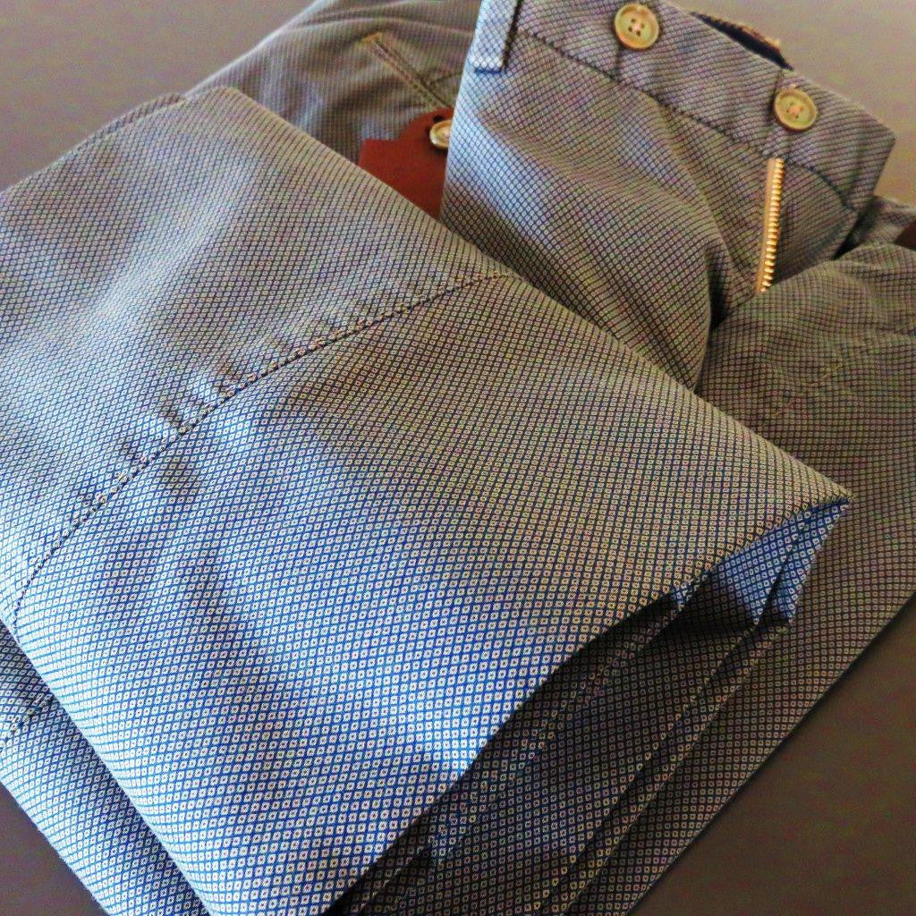 PT01 Pantaloni Torino - luxury cotton grey