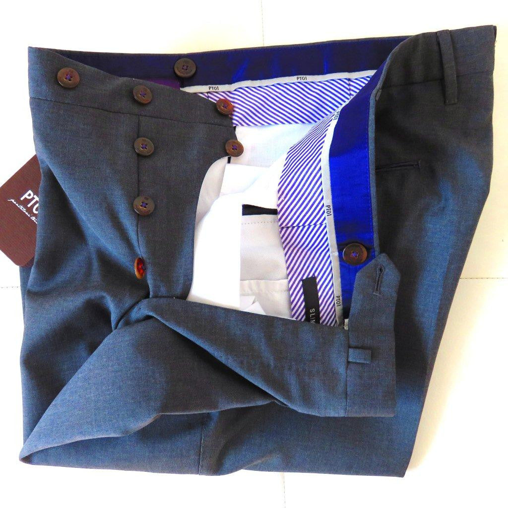 PT01 Pantaloni Torino - Model Deluxe 100% virgin wool