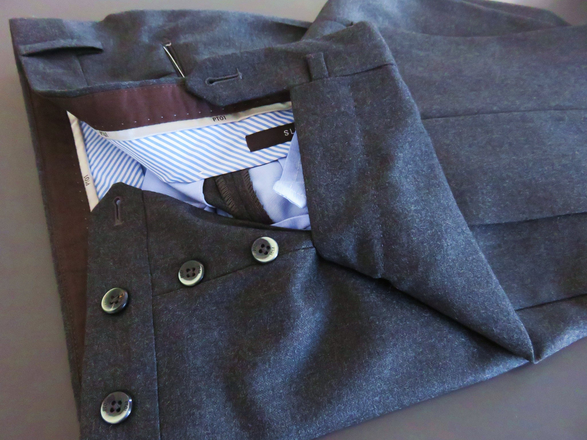 Pantaloni Torino - PT01 Wool Luxury (grey)