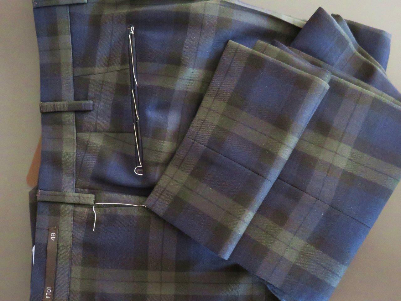 PT01 Pantaloni Torino - Luxury First quality virgin wool (scottish)